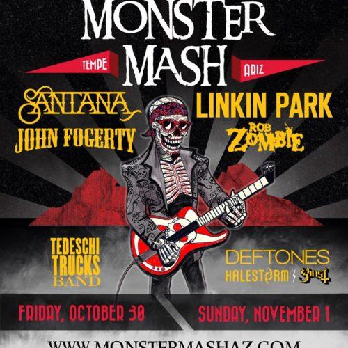 monster mash 2015 poster