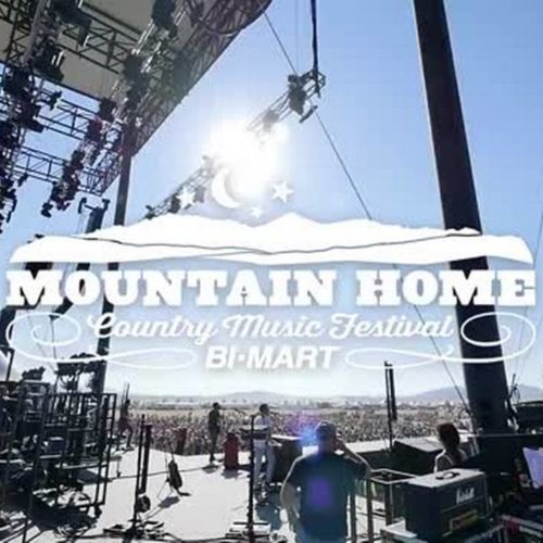 mountain home country music festival 2016 poster