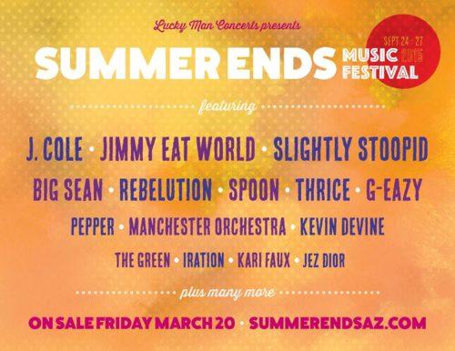 summer ends music fest poster 2015