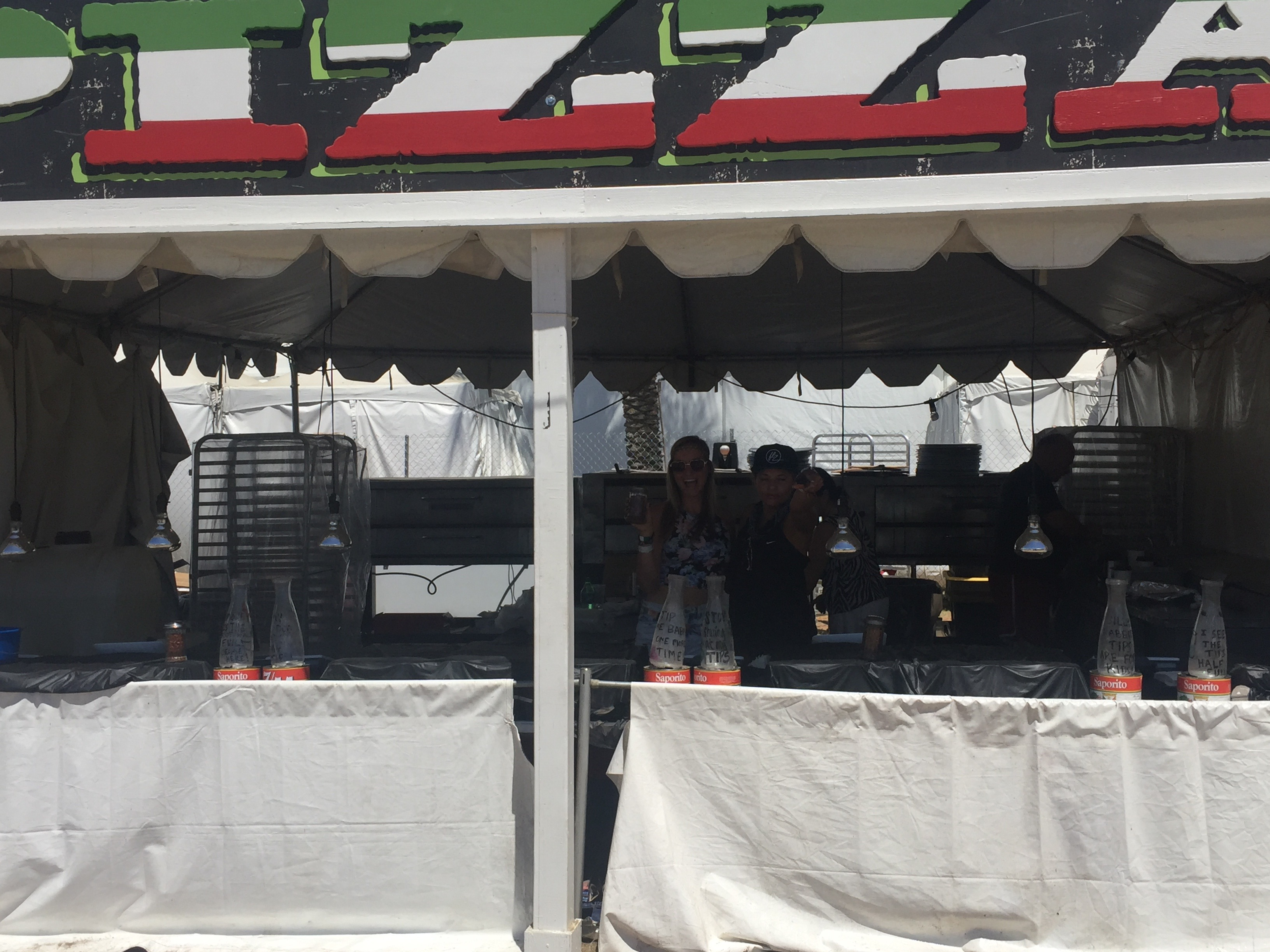 Coachella 2016 booth